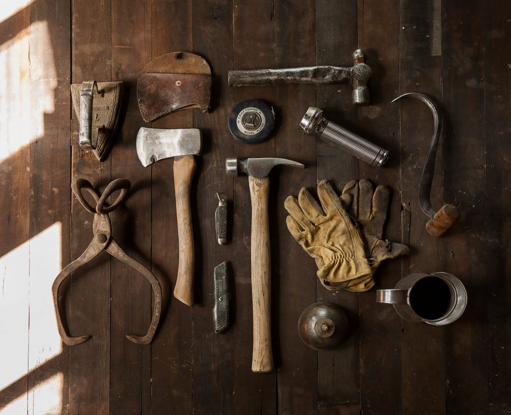 Picture of different tools